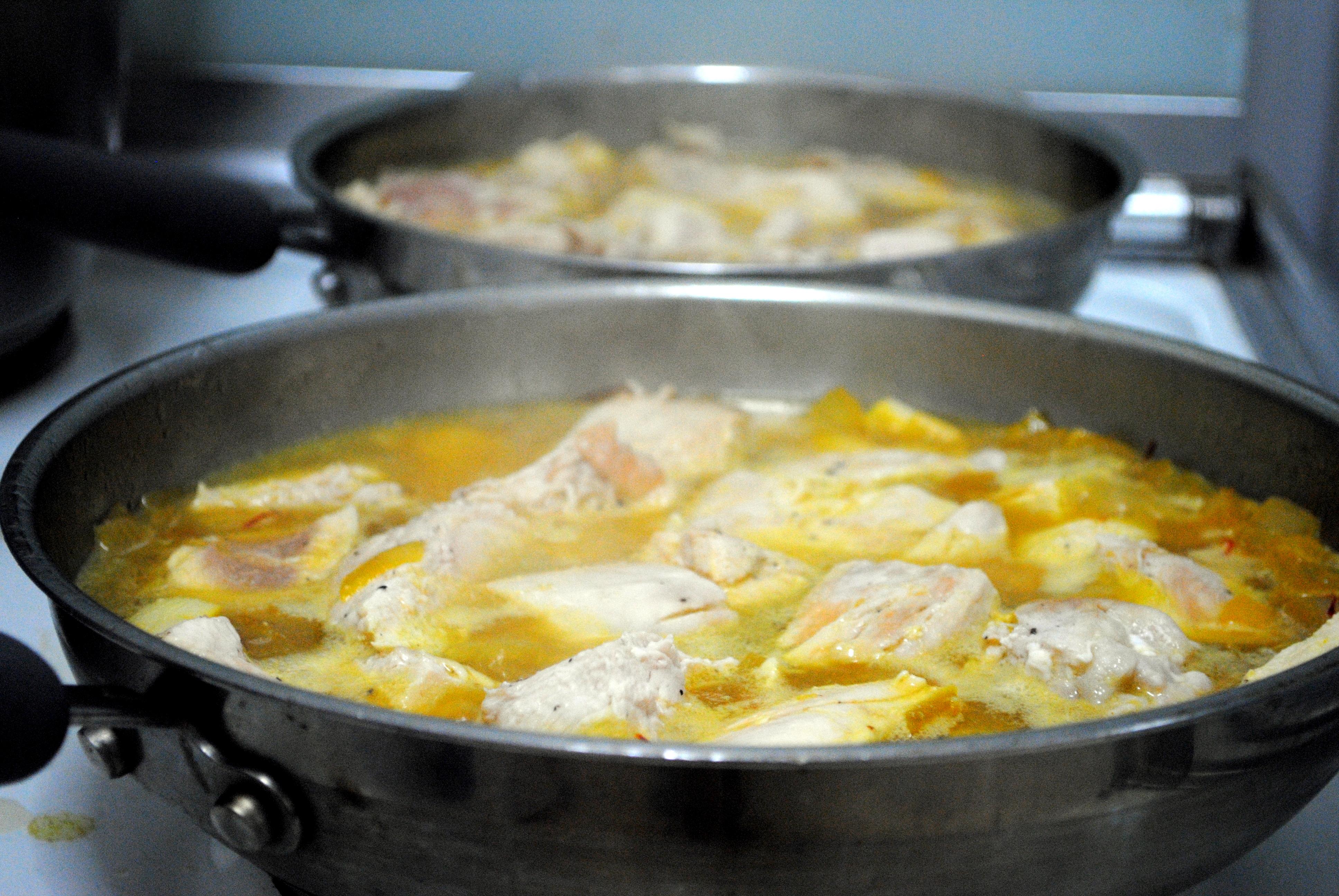 and lemon parsley yogurt sauce saffron chicken with parsley and lemon ...