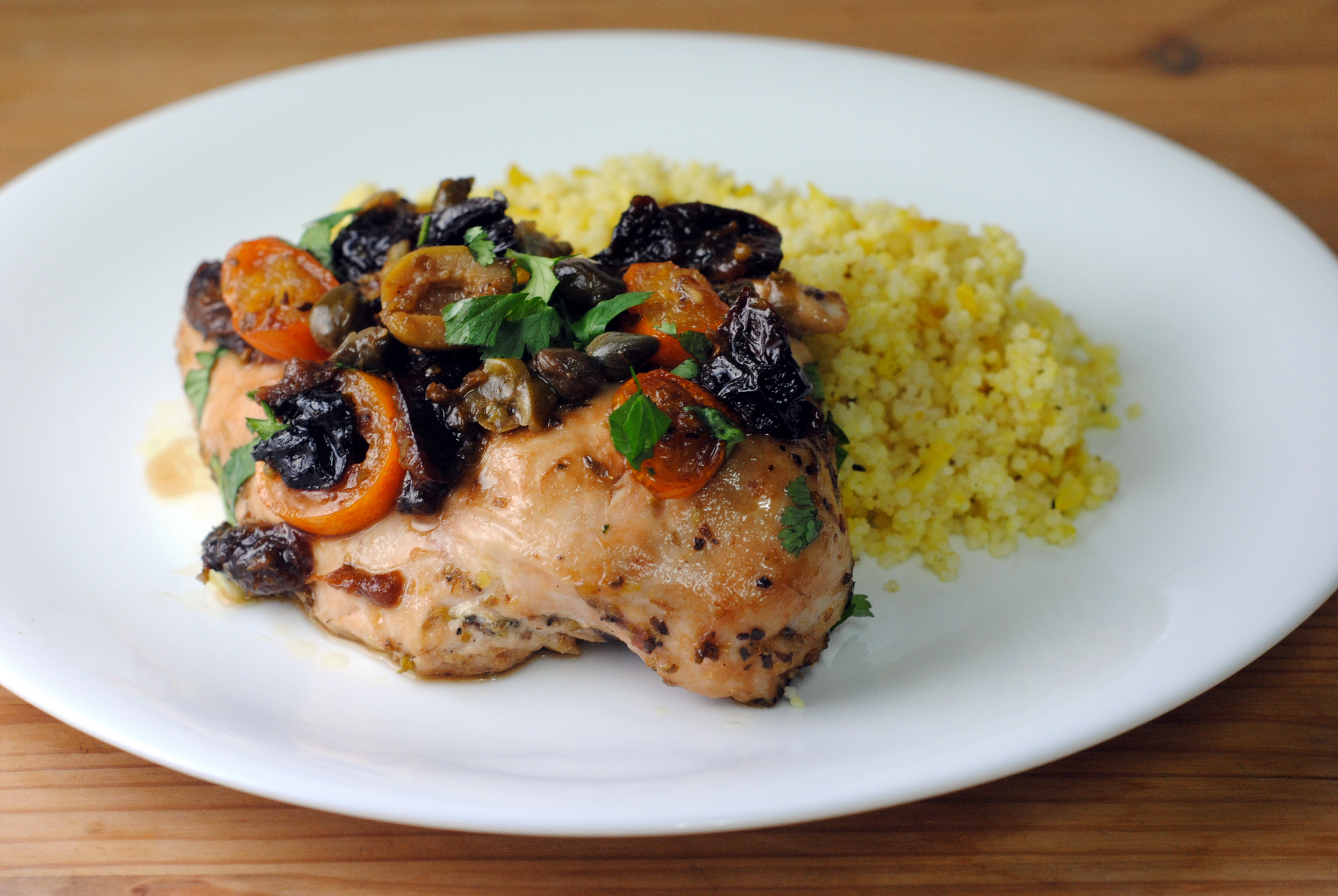 Chicken Marbella Recipe — Dishmaps