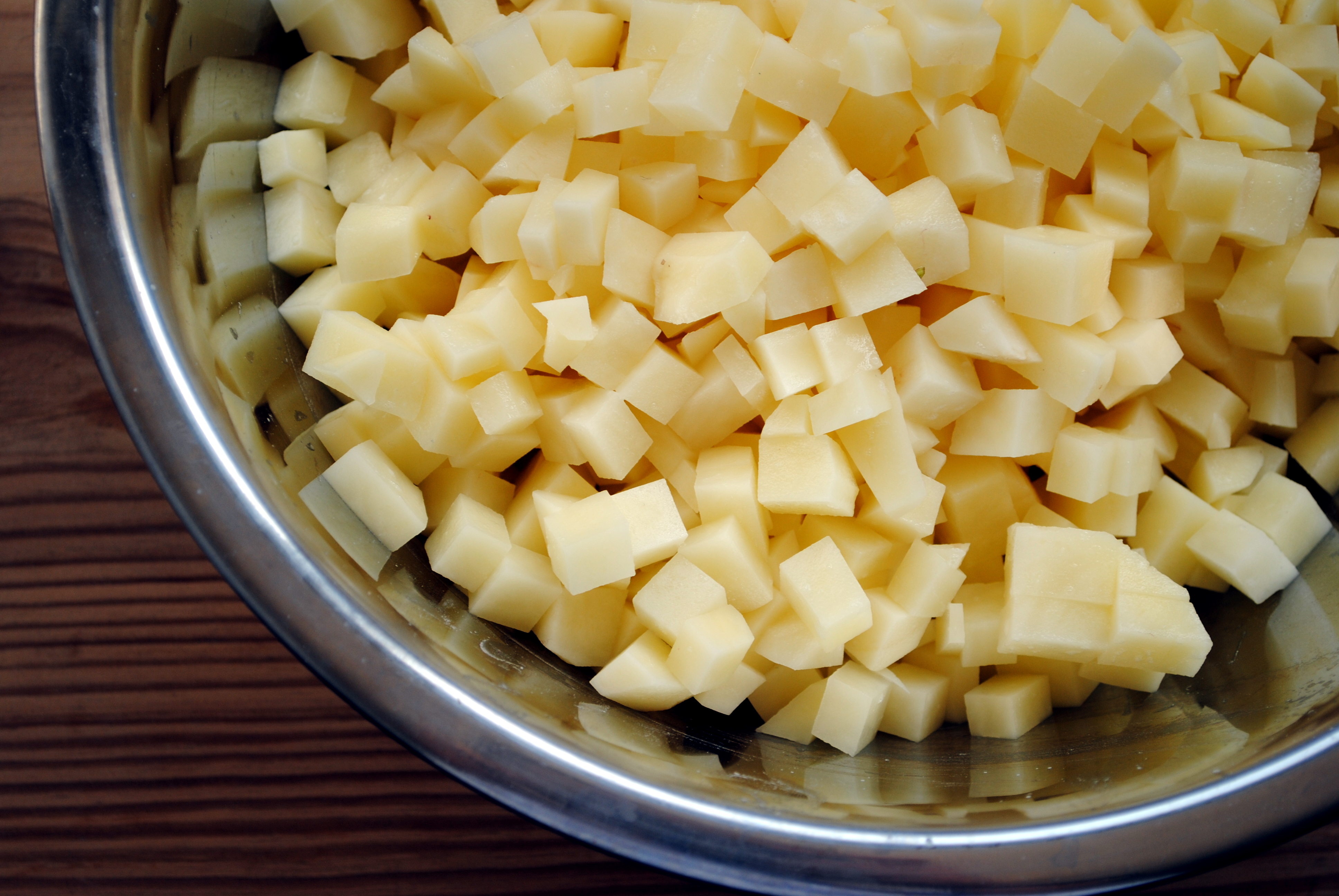 Cutting Onions With Food Processor