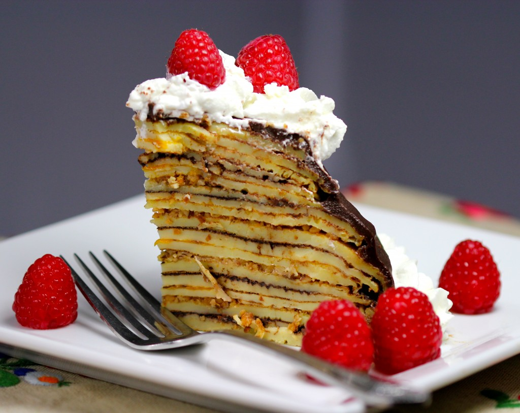 french crêpe cake Mille crepe cake by jody duits and spread over the crepe cake more like this vegetarian casual party date night special occasion kid-friendly french.