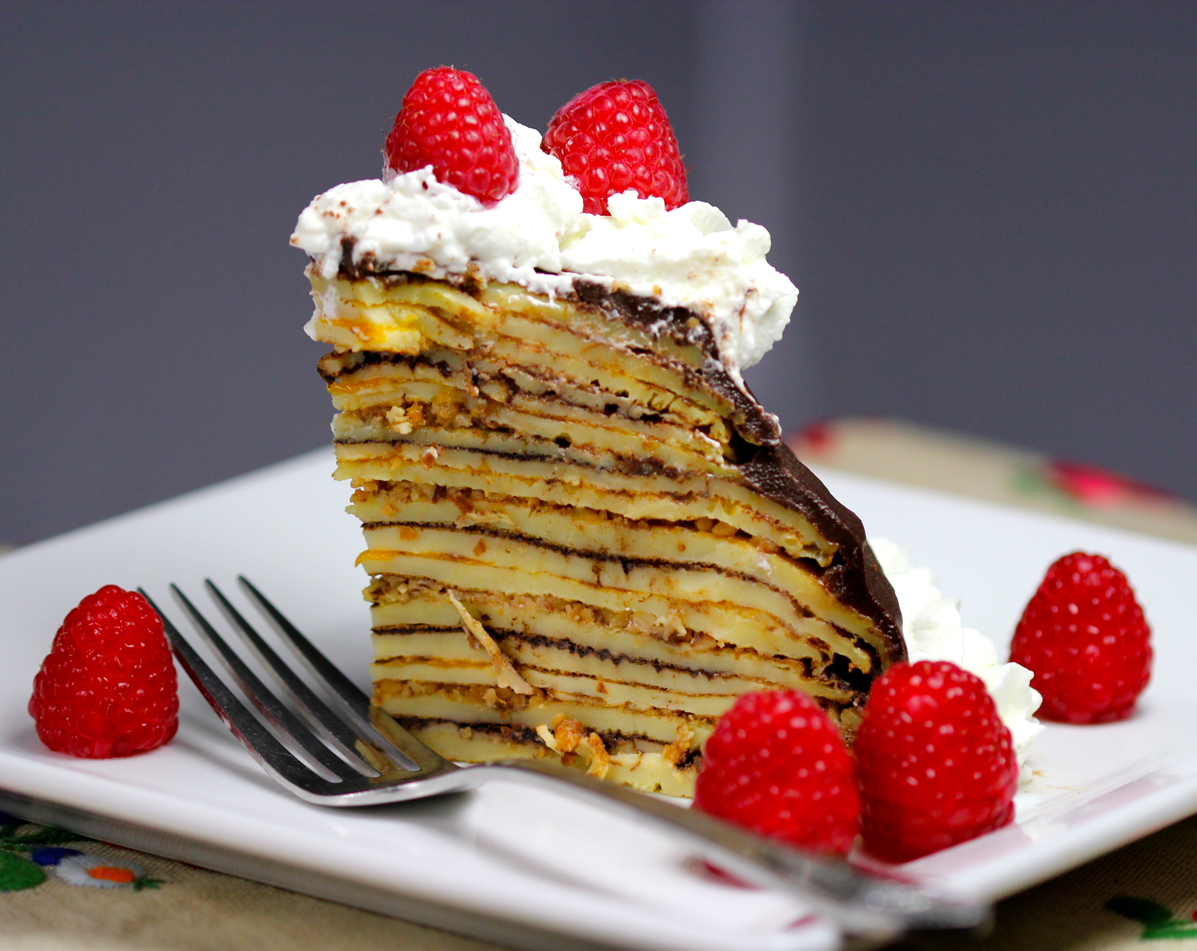 "Layered Crepe Cake Recipes: Guest Post: The Secret Of The Hungarian ""Surprise"" Cake"