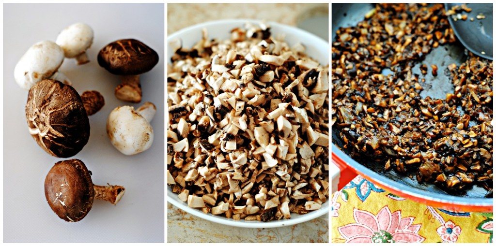 Mushrooms for Baked Mushroom Bao