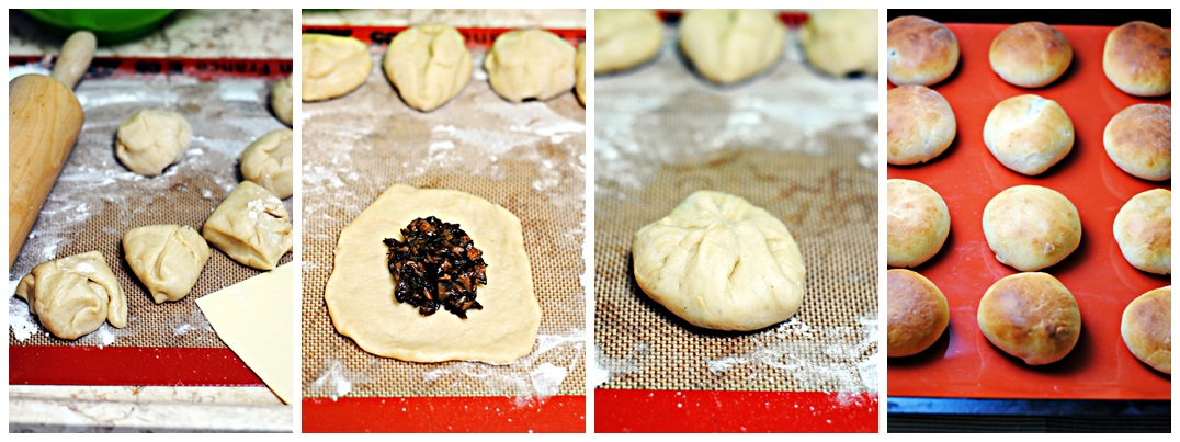 How to Make Baked Mushroom Bao