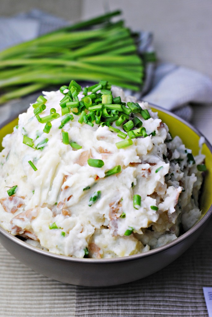 Sour Cream and Scallion Mashed Potatoes