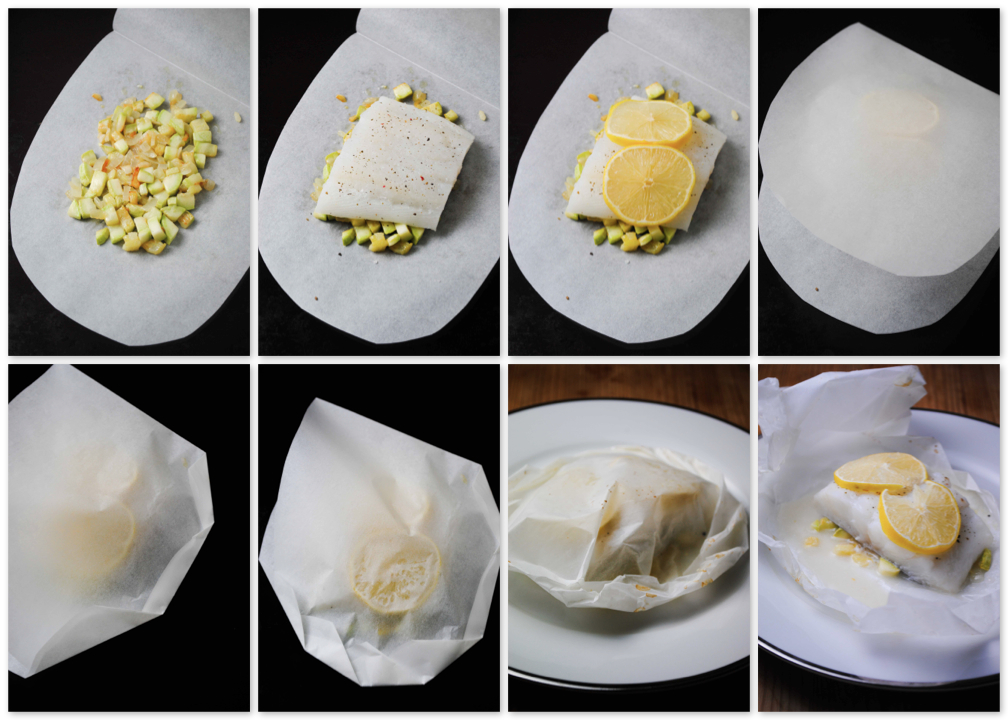 Halibut en Papillote How To