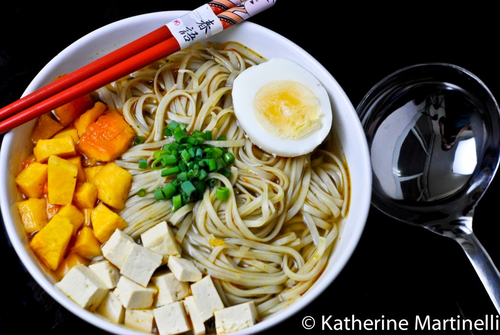 Miso Butternut Squash Ramen