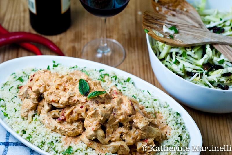 Moroccan Mustard Chicken Recipe