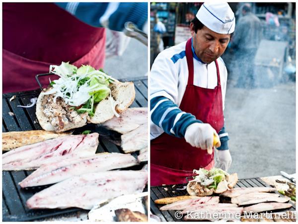 Fish Sandwich, Istanbul