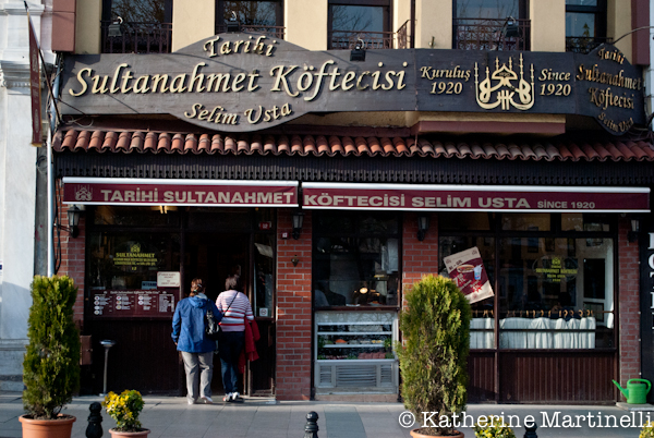 Tarihi Sultanahmet Koftecisi, Istanbul