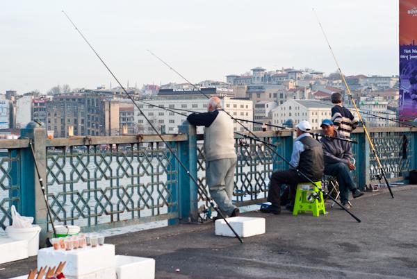 Istanbul Fishermen