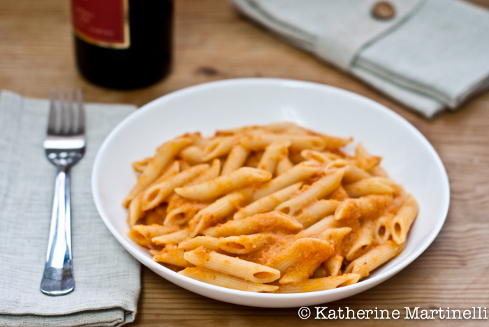 Skinny Penne alla Vodka Recipe