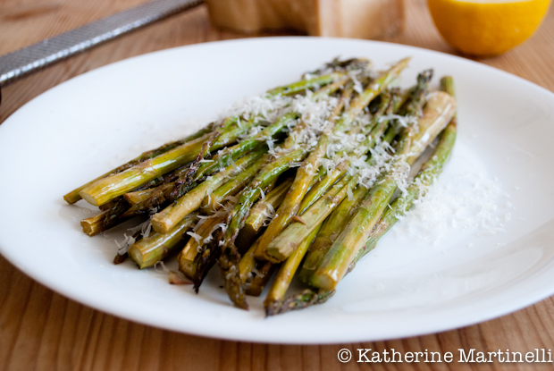 Roasted Asparagus from KatherineMartinelli.com