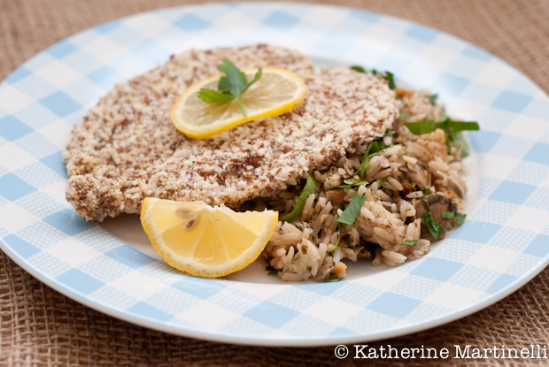 Flax Seed Chicken ~ KatherineMartinelli.com