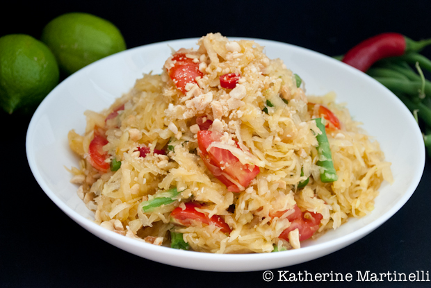 Som Ta (Green Papaya Salad) ~ KatherineMartinelli.com