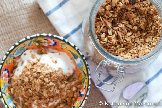 Honey Pistachio Granola