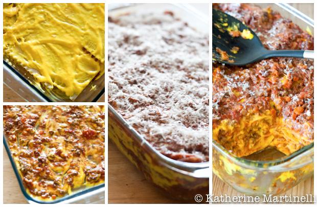 Lasagna alla Zatterano ~ Saffron Lasagna
