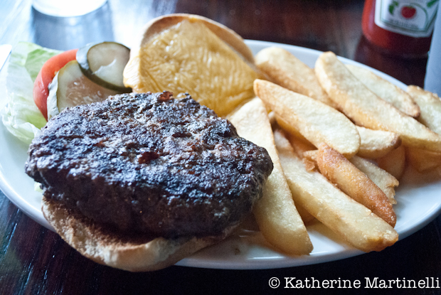White Horse Tavern Burger, and A Burger a Week