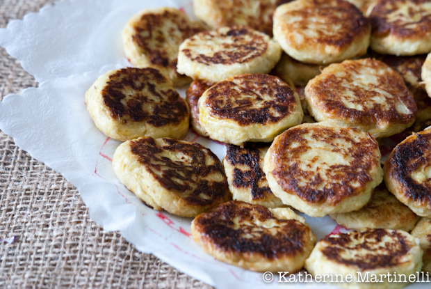 Leek, Potato, and Feta Pancakes