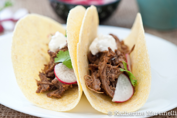 Shredded Beef Tacos and a Taco Blog Hop