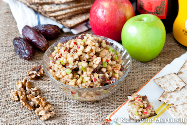 Apple-Date Charoset and a Passover Recipes Blog Hop