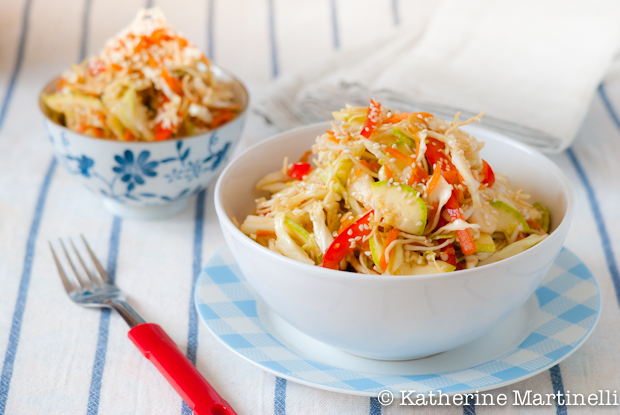 Asian Cabbage Salad Dressing Soy Sauce