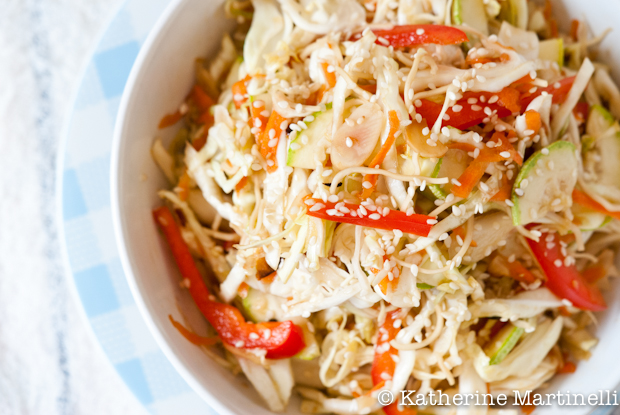 Asian Cabbage Salad recipe