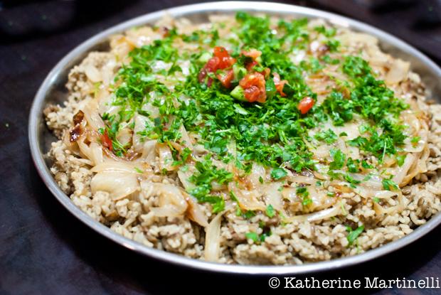 Mujadara - Bethlehem Cooking Class